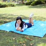 215x215cm  Travel Picnic Pad Cushion Moistureproof Camping Mat Mattress Outdoor Camping  Hiking Sleeping Mat